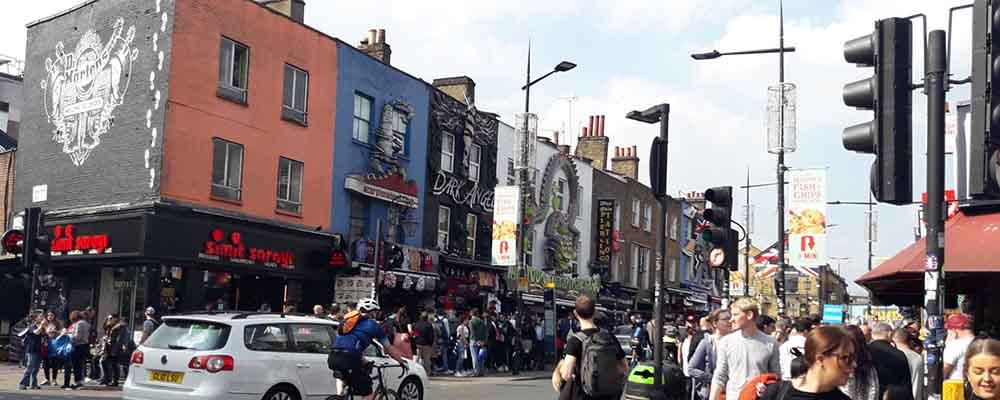 Edificios en Camden Town