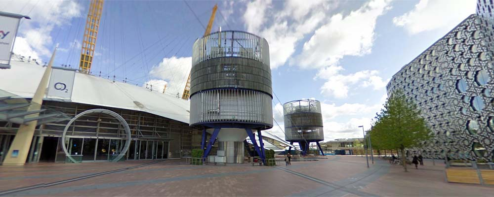 Lugar cultural Millennium Dome