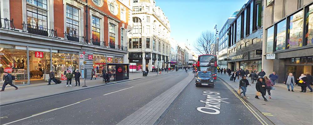 Compras en Oxford Street