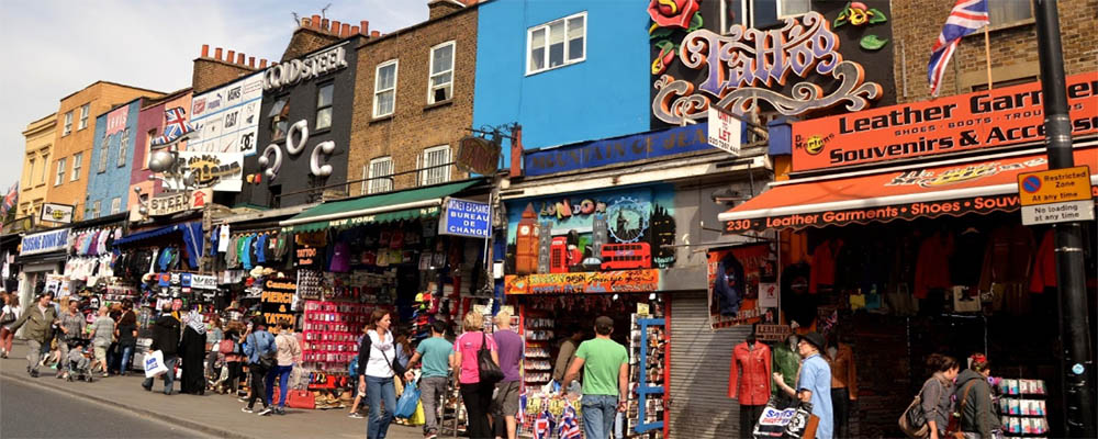 Fachadas Camden Street