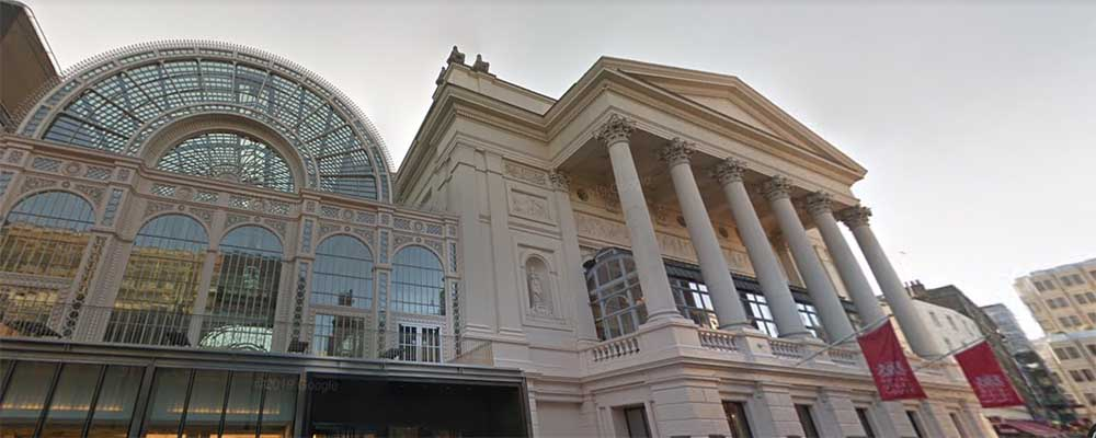 Exterior de Royal Opera House